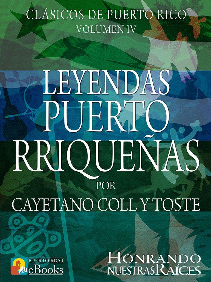 Magníficas leyendas escritas por Cayetano Coll y Toste. Cayetano Coll y Toste nos lleva a conocer, cómo era Puerto Rico en la época colonial española y cómo era la vida de los Taínos y la de los esclavos. Sus temas principales fueron: el amor, la religión, la superstición, la piratería, el Taíno y los esclavos negros. Sus leyendas tales como La Garita del Diablo, Guanina y El Pirata Cofresí son legendarias. #puertorico #boricuas #puertorriqueños #cultura #ebooks