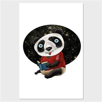 Bebek Panda Kendin Tasarla - Kanvas Tablo 60x90 cm Dikey