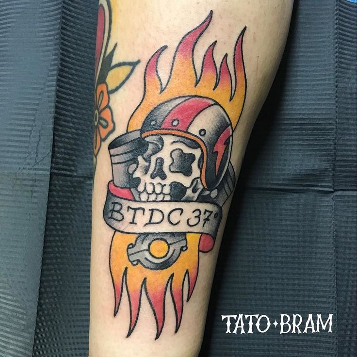 If you know what the text means. Than you are a true motorcycle nerd. Thanks Arne. #bikertattoo #motorcycletattoo #motorhead  - Looking for an artist to turn your idea in to a kickass tattoo? Let's talk. Get in touch a jesper@bram.tattoo or direct message. #bramtattoo #jesperbram #tatovering #tatovør #tatoveringer #dansktatovørlaug #copenhagentattoo