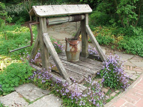 45 best garden wells images on pinterest wells wishing. Black Bedroom Furniture Sets. Home Design Ideas