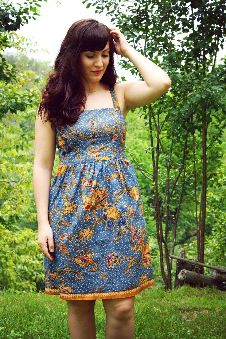 Batik Hazel dress