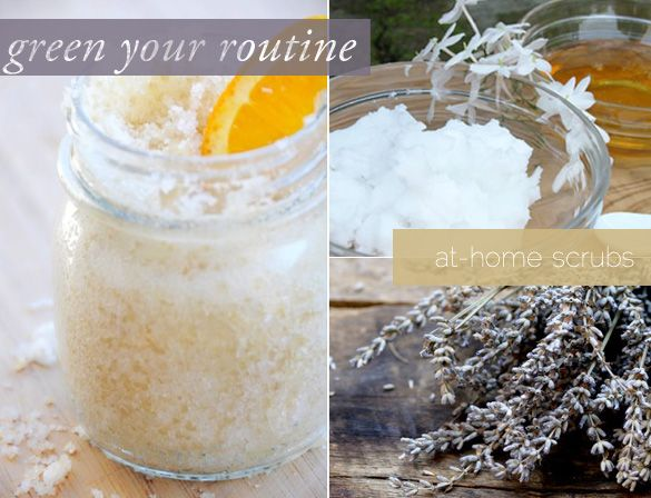 Our fave formula for homemade body scrubs. yum!
