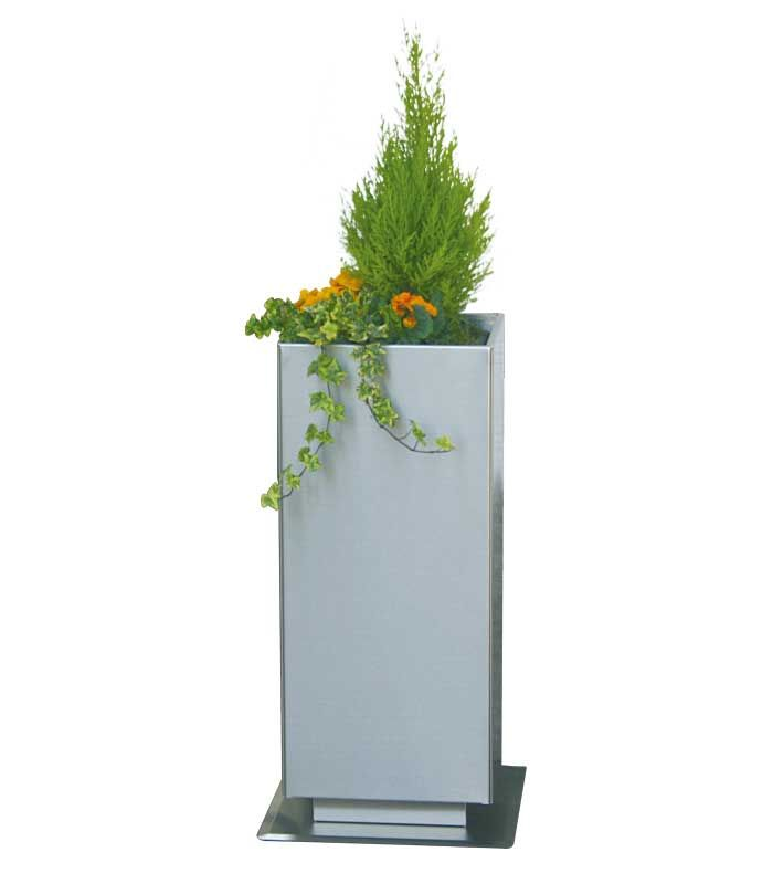 Pflanzgefass Eckig 70 Cm Edelstahl Pflanzgefasse Pflanzen Und