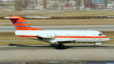 Photo of PH-PBX - Fokker F28-1000 Fellowship - Netherlands - Government
