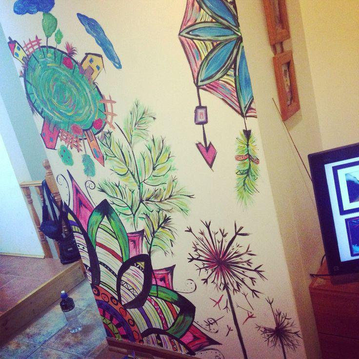 #mural #casa #decoración