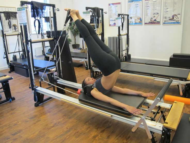 Pilates Reformer machines at The Yoga Lounge