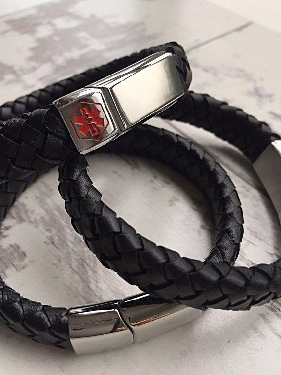 Carte d'identité bracelet alerte médicale par medicalIDworld                                                                                                                                                                                 Plus