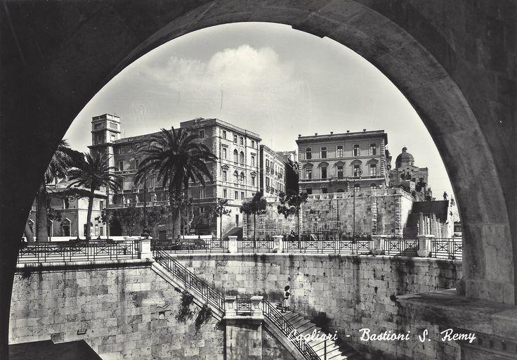 CAGLIARI - Bastioni S. Remy (anni '50-'60)