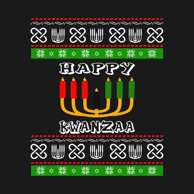 Check out this awesome 'happy+Kwanzaa+7+t-shirt' design on @TeePublic!