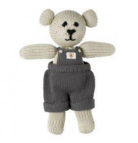 100% Cotton Bud Teddy Bear (boy) - www.koop.co.nz