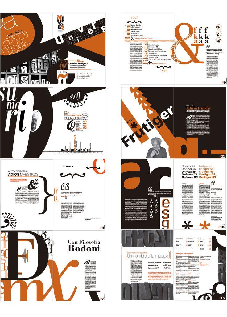 Revista tipográfica  (no completa) Tipografía - 2 Gaitto