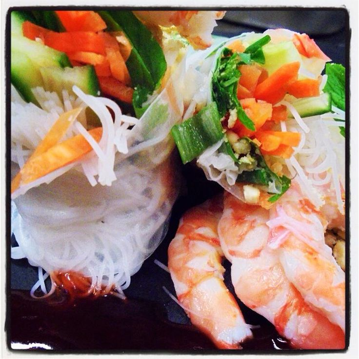 Prawn Rice Paper Rolls with Sweet & Sour Sauce - Bunbury Farmers Market