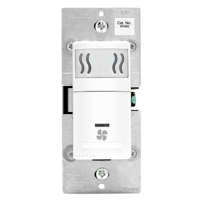 Decora Humidity Sensor And Fan Control White Iphs5 742 Home Depot Canada Bathroom