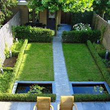 Such a clever use of a small garden