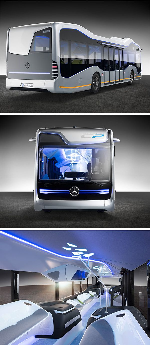 Daimler Buses presents the Mercedes-Benz Future Bus, the first autonomously driving city bus operating in a real-life traffic situation.
