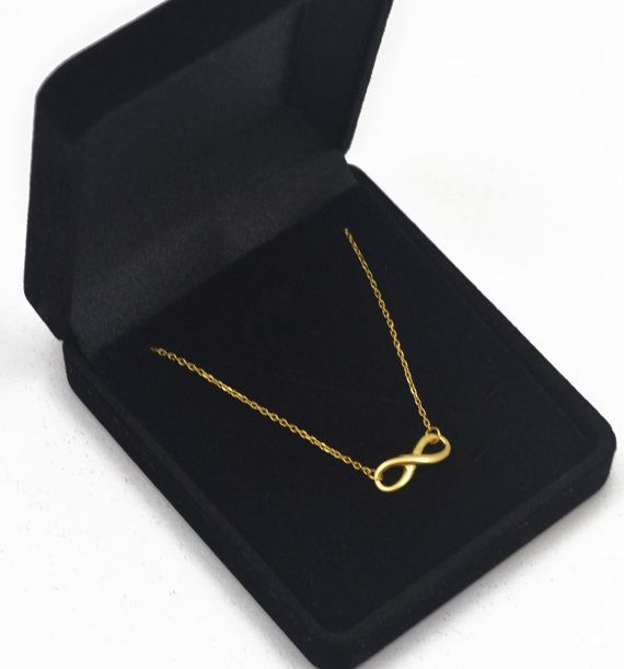 Infinity Necklace Gold Necklace by ZOKOSTORE #infinity #infinitynecklace #necklace #goldnecklace #goldjewellery #giftforher #chainnecklace