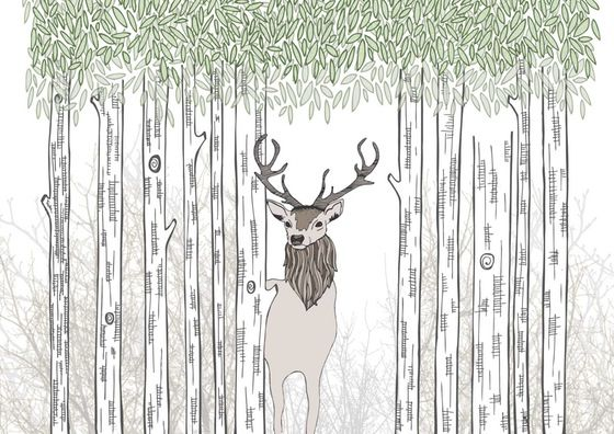 Image of 'Into the Woods' Print