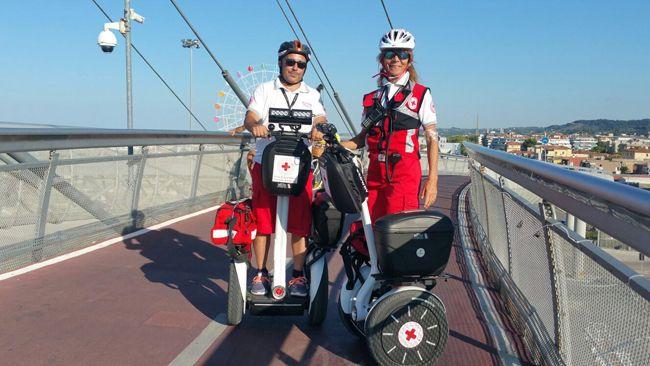 Pescara Estate sicura 2017 con la  Croce Rossa Italiana