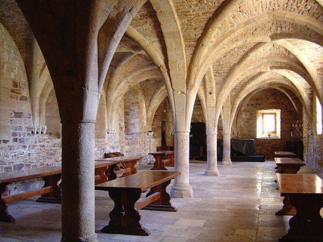 Abbaye de Sylvanès scriptorium.