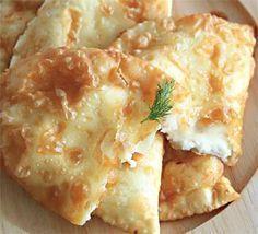 Чебуреки с сыром, пошаговый рецепт с фото
