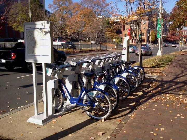 Charlotte Nc Road Trip Forward Charlotte Nc Bike Share Station