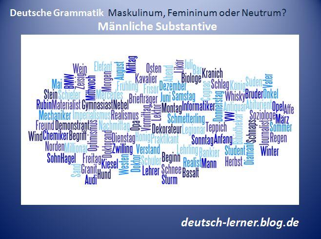 Artikel: Der, die oder das? Genusregeln - männliche Substantive. Regeln, Ausnahmen und Beispiele