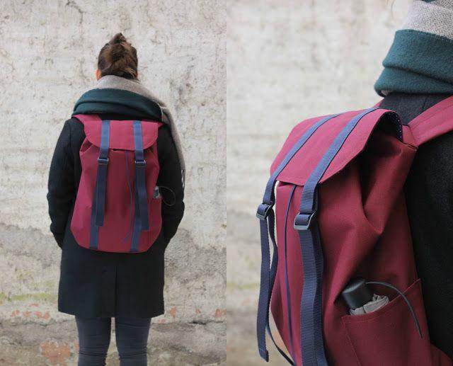 DIY Backpack Beckett Seemannsgarn, Pattern by Ithinksew