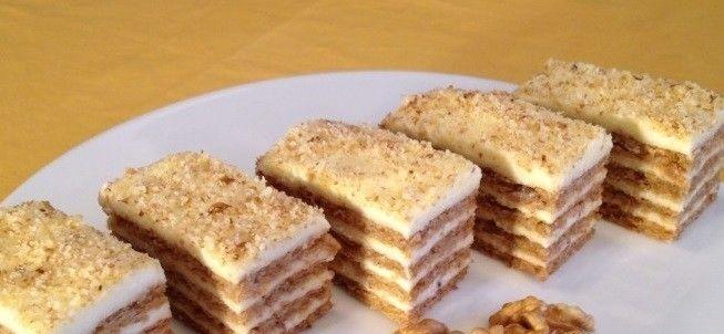 Super ořechové řezy bez gramu mouky! | ViraloMat
