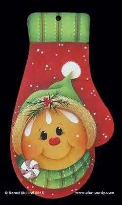 CHRISTMAS GINGER MITTEN *