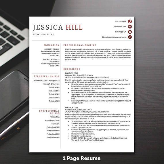 Best 25 Free Cv Template Ideas On Pinterest: 25+ Best Ideas About Resume Templates On Pinterest