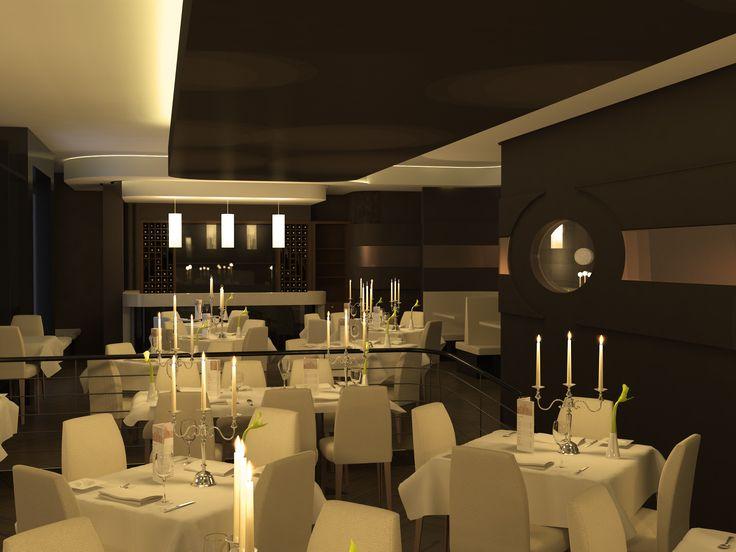 Sansa Restaurant. Design: Peter Carman