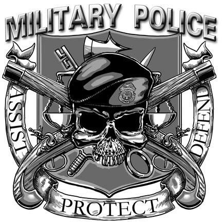 Military Police till the day I die hooah!