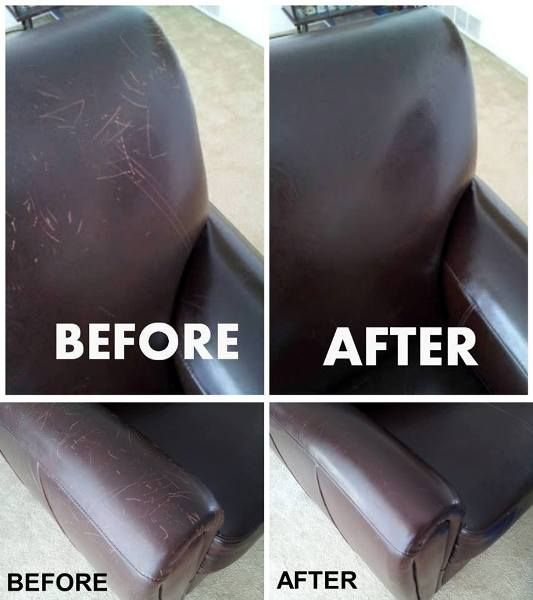 Fix Cat Scratches on Leather Using Olive Oil