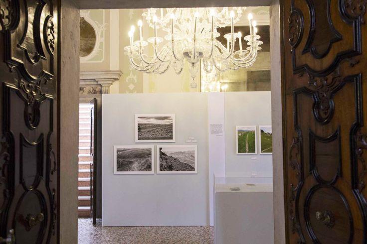 """Tosetto for the exhibition """"Altipiano – escursioni nell'opera e nel paesaggio di Mario Rigoni Stern"""" at Palazzo Ferro Fini, Venice"""