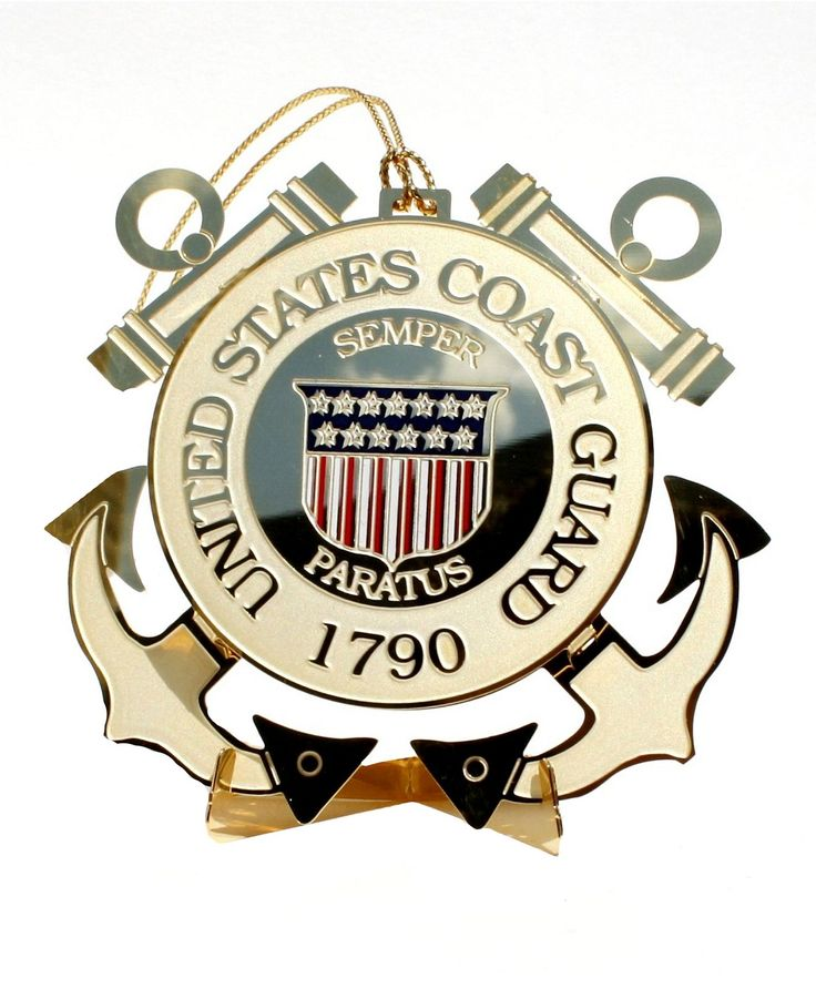 ChemArt Christmas Ornament, Coast Guard - Holiday Lane - Macy's