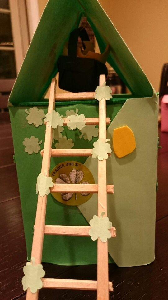 Diy leprechaun trap with tissue box and construction paper : trap boxes - Aboutintivar.Com
