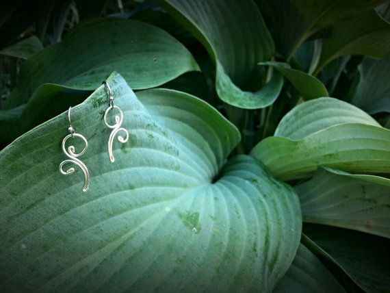 Check out this item in my Etsy shop https://www.etsy.com/listing/471033217/silver-spiral-earrings