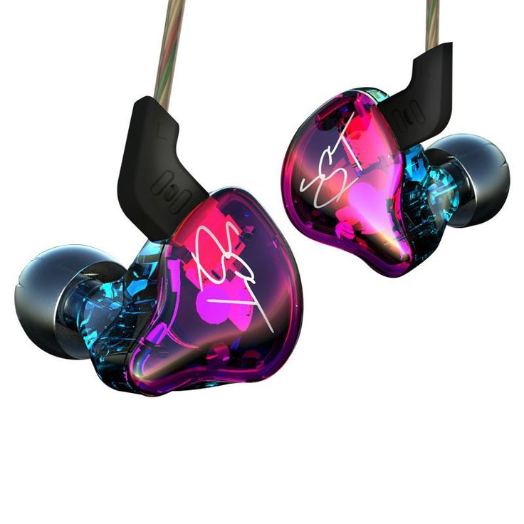 KZ ZST Sport Earbuds In-Ear Earphone Bass with Mic