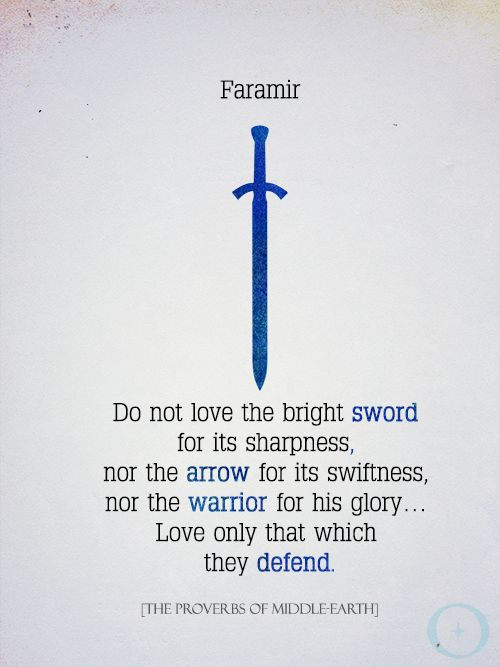 Proverb of Middle-earth