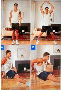 ejercicios sin pesas para brazos