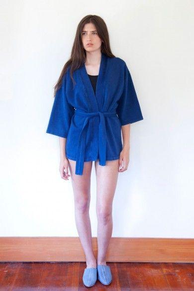 Kimono Sweat Denim