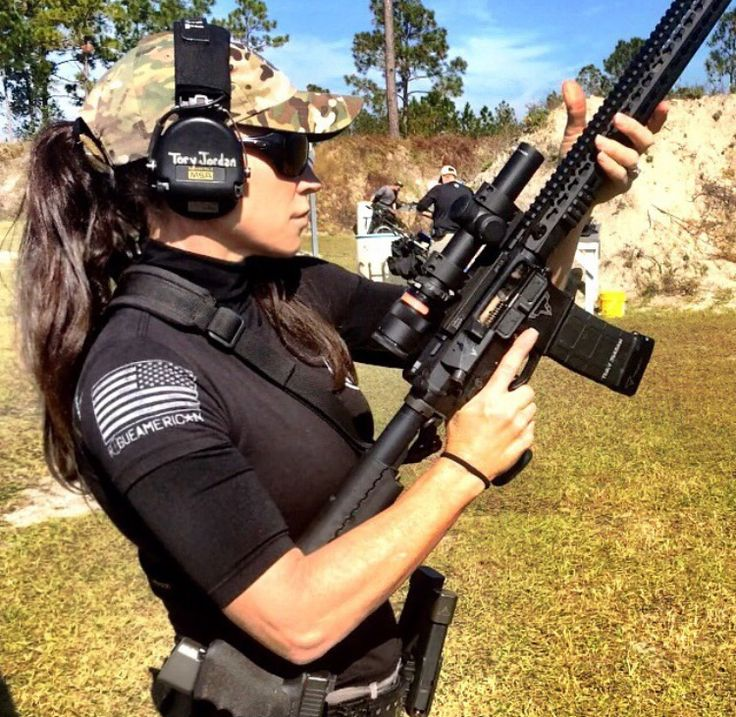 Women, learn to shoot. If you don't depend on a man to make a living, don't depend on a man for self-protection.