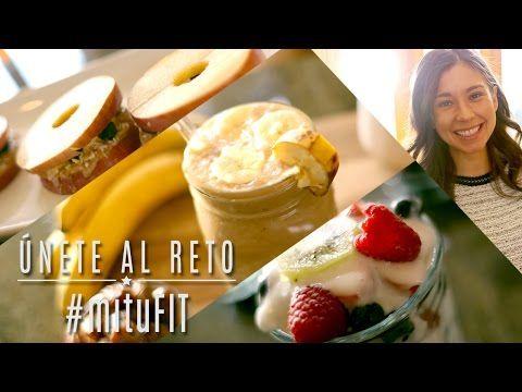 3 Desayunos Saludables - #mituFIT con Rawvana - YouTube