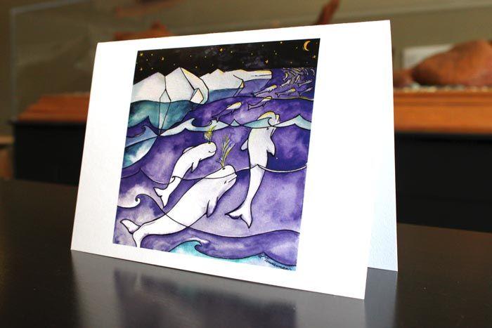 Migration - art by Laura Timmermans (Belugas)
