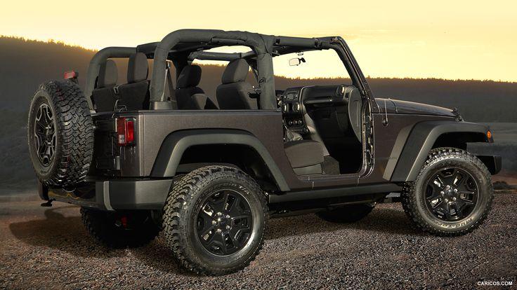 2014 Jeep Wrangler Willys Wheeler Edition Jeep wrangler