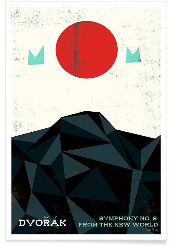 Dvorak - New World Symphony als Premium Poster