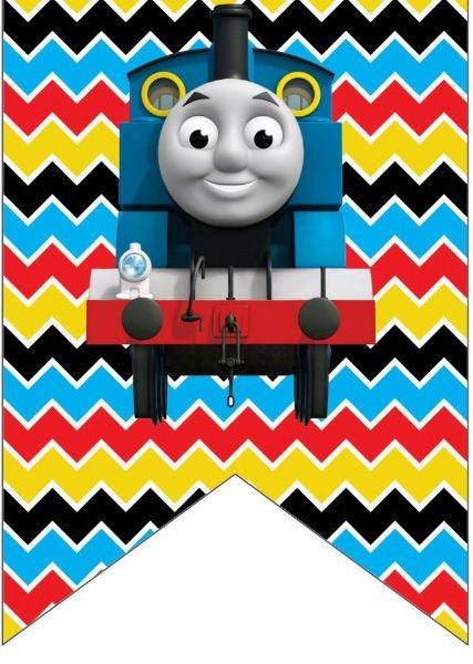 Enterprising image intended for free printable thomas the train cup cake toppers