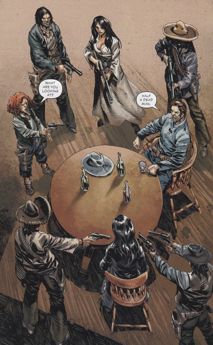 Jonah Hex & Tallulah Black, All-Star Western, Vol 6, End of the Trail