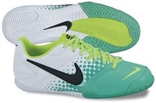 Nike5 Elastico Youth Indoor Soccer Shoes (Atomic Teal/White/Electric Green/Black)  Soccercorner.com