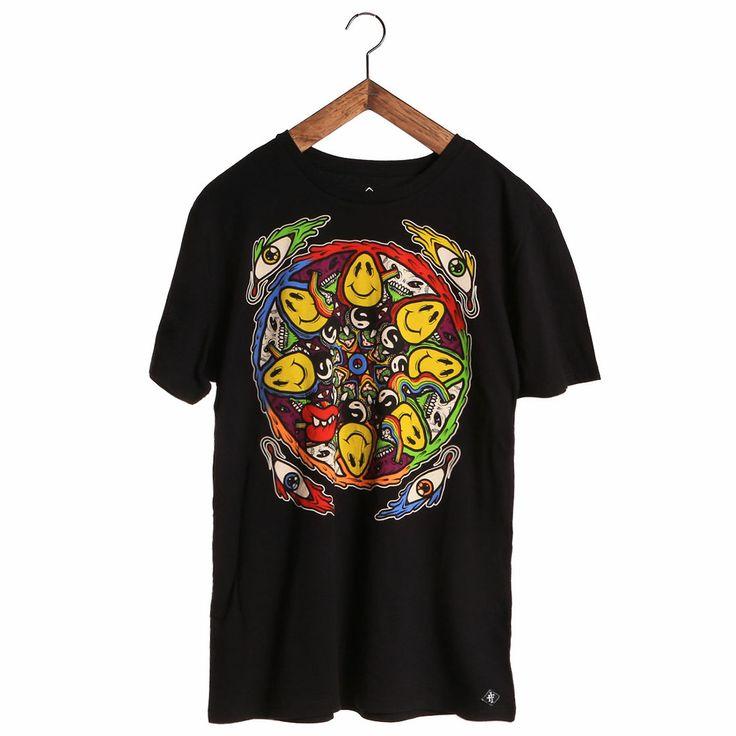 Iron Fist Trippin Men's T-Shirt, 100% Cotton. Alternative Clothing